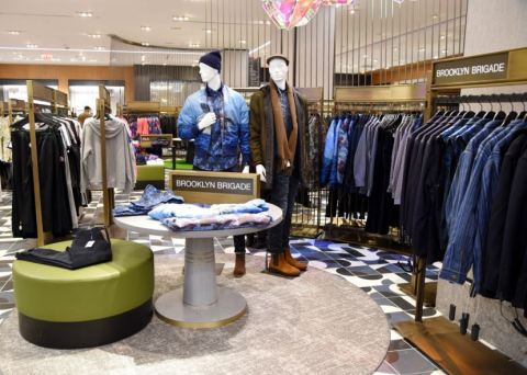 Macy's reimagines men's shopping experience at flagship Herald Square, including a revolving destination for the latest trends, The Park. (Photo: Business Wire)