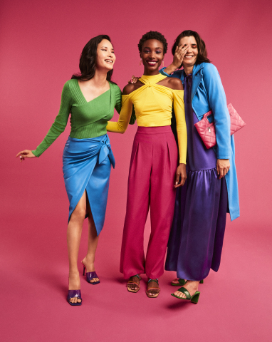 This spring, wear what you love anywhere with the best brands across fashion, home, beauty and accessories at Macy's; I.N.C. International Concepts Clothing and Accessories, $26.50 - $189.50 (Photo: Business Wire)