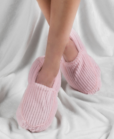 Macy's is the destination for top gifts at every price for everyone on the list; Warmies Spa Therapy Slippers, $25.00 (Photo: Business Wire)
