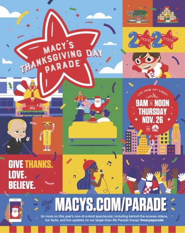 THE WORLD-FAMOUS MACY'S THANKSGIVING DAY PARADE® KICKS OFF THE HOLIDAY SEASON FOR MILLIONS OF TELEVISION VIEWERS WATCHING SAFELY AT HOME (Graphic: Business Wire)